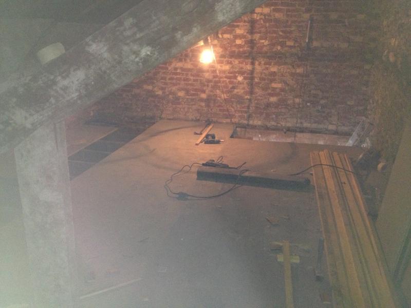 Perfect couloir avec fauxplafond et spots led intgrs paris for Faux plafond avec spot